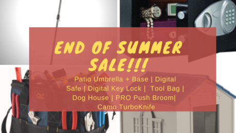 End of Summer Sale! Salem Building Materials